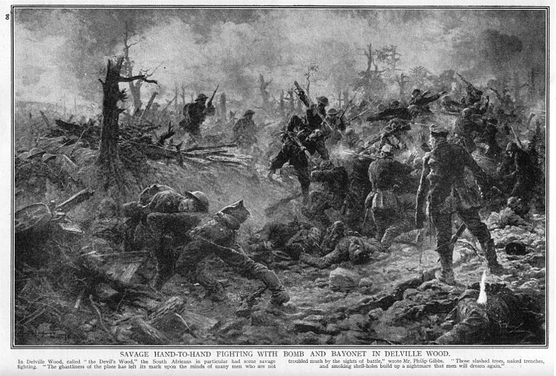 Battle of Delville Wood, France
