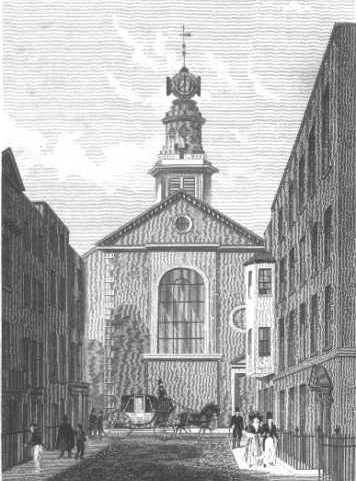 St Anne's Church, Soho, location of marriage of John Heenan, a London tailor